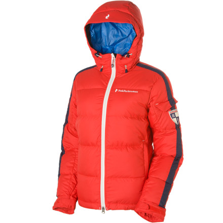 Camp and Hike Venture out in the Peak Performance Women's Tignes Down Jacket and give the cold a run for its money. Whether you're slicing early-morning turns down groomers, winter camping with your friends, or belaying your ice climbing partner, this 600-down fill jacket keeps you plenty warm. - $237.48