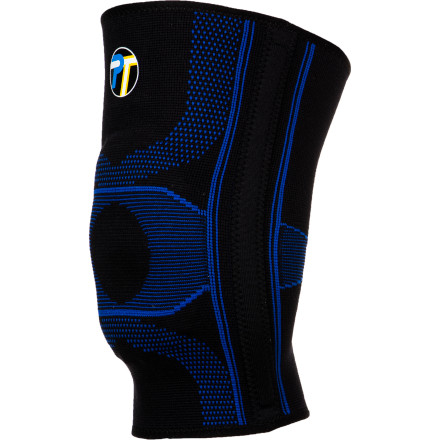 Climbing Don't let minor knee pain keep you from pursuing your favorite activities. The Pro-Tec Gel Force Knee Brace uses compression to help alleviate general, minor knee pain, and it also provides moderate support and cushioning for your patellar (kneecap) area, as well as medial and lateral support. - $29.95