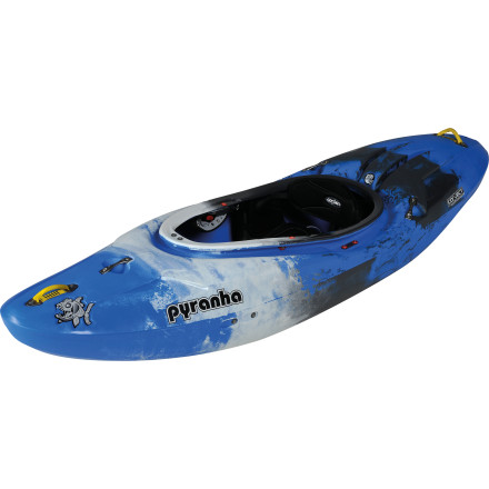 Kayak and Canoe Firmly planted in Pyranha's line of river running boats, the Nano Kayak makes it easy to play in the creek and feel confident in the river. Short for its category, the Nano takes on a more playful nature than the Burn or the Shiva. The hull features a semi-flat bottom to make spins and surfing simple, while full-length rails engage with lightening speed when you need to snap into a tight eddy. Taking a page from the design of the freestyle-specific Jed, the Nano maneuvers on a dime and softens boof landings thanks to the progressive bow-to-stern rocker. And for paddlers who prefer to lean back on big features, the stern offers ample volume to keep your riding high when the river tries to suck you in. Experienced boaters will revel in the fact that this boat is not only fun and fast but easy to portage, while aspiring creekers will find confidence in the stability and predictability of this versatile ride. - $1,098.95