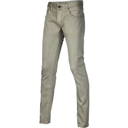 Surf Looking to show off your freshly honed leg muscles after a long season of shredding the snow' Look no further than the super-skinny-fitting Quiksilver Zeppelin Slim Denim Pant. - $69.50