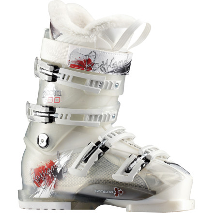 Ski As you slash through a perfectly blanketed glade or slice through crude like sashimi, the moderately stiff Rossignol Women's Electra Sensor3 90 Ski Boot matches your averaged-sized foot while you casually schuss past the 'average' skier. The morning is all about lapping the knee-deep fluff, and this boot's Sensor3 shell and 90-rated flex yields a delicious mix of comfort and control for quick turns in the deepest woods. And once the sun starts its decline, you'll rule your selection of stashes with the boot's neutral stance keeping you ready for any type of snow you may encounter. - $247.47