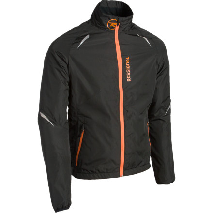 Instead of ditching your clothes strategically along the Nordic track when you overheat, pull on the Rossignol Men's Xium Jacket and stay comfortable through your entire workout. This lightweight breathable jacket keeps you feeling well-ventilated while you chase your workout-queen gal around. - $59.98