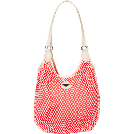 Surf Stash everything you need in the Roxy Women's Lasso Tote for your short train ride into the city. This casual crochet sling bag holds all of your must-have items while you play tour guide for your folks. - $30.60