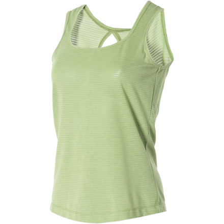 Camp and Hike Your idea of 'play' on a midsummer morning may involve a ten-mile hike in the foothills, or a leisurely window-shopping expedition down Main Street; either way, the Royal Robbins Women's Briza Tank Top is ready when you are. This classic tank delivers the go-with-everything style that makes it the right choice for casual outings, but it also has the performance chops to tackle more strenuous activities. - $23.98