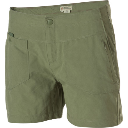 Camp and Hike The Royal Robbins Women's Terra Hiker Short was made for the trail, but we'll bet it will find its way to the field, the beach, the grocery store, and your backyard hammock as well. And thanks to the multiple pockets, you can bring plenty of stuff with wherever you go. - $29.98