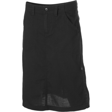 Entertainment Turn to the Royal Robbins Women's Cool Mesh Skirt to beat the heat. Shorts may be nice and cool, but if you're heading off to work or traveling in a foreign culture, they're not exactly the most appropriate choice. In fact, the open-mesh construction of this cotton skirt just may end up keeping you more comfortable than any pair of shorts can. - $29.98