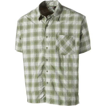 Entertainment Travel in comfort and tack-sharp style thanks to the Royal Robbins Men's Bridgeport Plaid Shirt. Lightweight synthetic materials wick moisture, breathe to help keep you cool on hot days, resist wrinkles, and allow this shirt to roll up easily to fit in your already-stuffed luggage. A versatile shirt that will quickly become your go-to for warmth weather. - $28.98