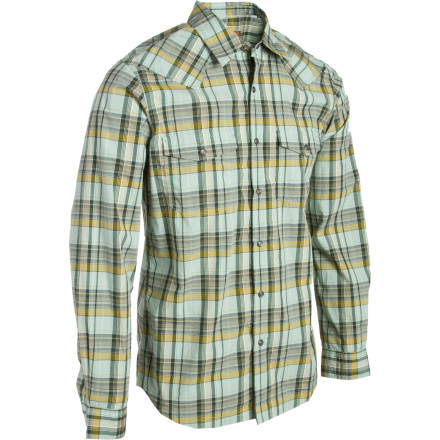 Entertainment Similar to a decent beer and a fine steak, the Royal Robbins Clint Plaid Flannel Shirt is sure to become a staple in your life. - $27.18