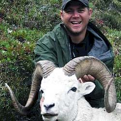 Hunting Dall Sheep Hunting - Gana River Outfitters in Canada