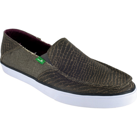 If you're looking at this page, you probably already know about Sanuk's next-level comfort that feels almost as good as being barefoot. The Standard Upgrade Shoe offers the same good vibes as their original design, but with premium materials like full-grain leather and herringbone rubber. 'Upgrade' is a pretty good way to describe it. - $55.97