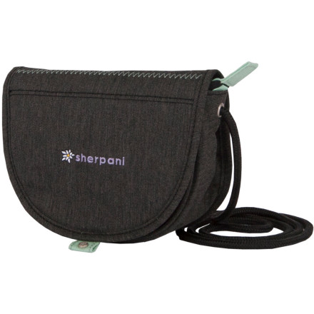 Entertainment Shoulder only what's necessary in the super-cute, slim-design Shepani Women's Uno Mini Purse. With zippered cell phone and main pockets and a magnetic flap closure, the essentials will be safe and secure during busy errand runs amid bustling crowds, or while you're just horsing around. Its bold-hued recycled nylon exterior and floral lining flash some style to go along with that crossbody practicality. - $26.95