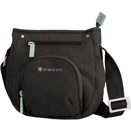Entertainment Organization is key, and the Sherpani Women's Cappi Shoulder Bag has a place for everything, with external and internal zippered pockets, a card-organizer, and key fob. Its deep compartment accommodates your choice of compact electronic device or book and keeps your favorite scarf or gloves at the ready. - $39.95
