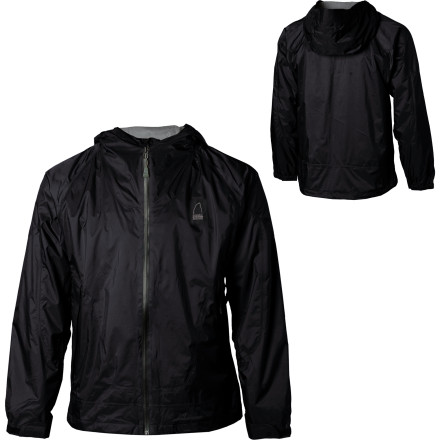 With a waterproof breathable shell and brushed tricot lining to manage moisture and insulate, the Sierra Designs Mens Hurricane Accelerator Jacket comes through when you need a little more than your summer rain jacket. Underarm zips dump excess heat and Sierra Designs Condor Construction provides unrestricted movement for cold, active outings. - $39.58