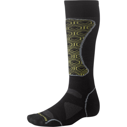 Ski The Smartwool PhD Ski Light Sock is lightweight without skimping on comfort and support; Smartwool added an extra layer of wool on high impact zones to increase durability and sustainability. Factor in wool's anti-odor and moisture-transporting properties, and your feet will be up for as many runs as you are. - $15.37