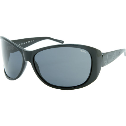 Camp and Hike The constant pop of flashbulbs in your eyes can cause serious damage over time. Protect your baby-blues with Smith Womens Novella Polarized Sunglasses. Handmade acetate frames provide the style, while an 8-base wrap and lightweight carbonic lenses give you protection from the paparazzi while your bodyguards are fighting off stalkers. - $83.37