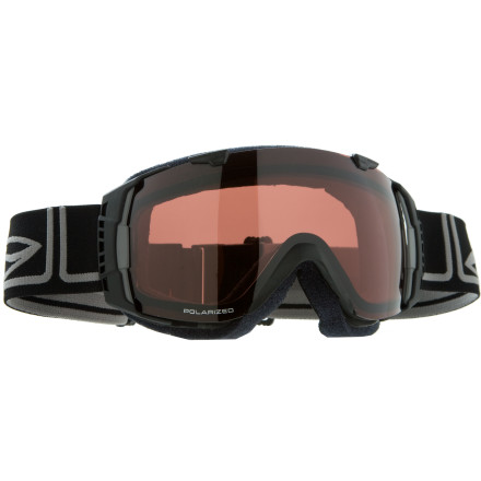 Ski You can score a pair of old-school cheapies at a ski swap, or you can spring for the Smith I/O Interchangeable Optics Spherical Series Polarized Goggles and have your mind blown by how they affect your experience on the mountain. - $191.21