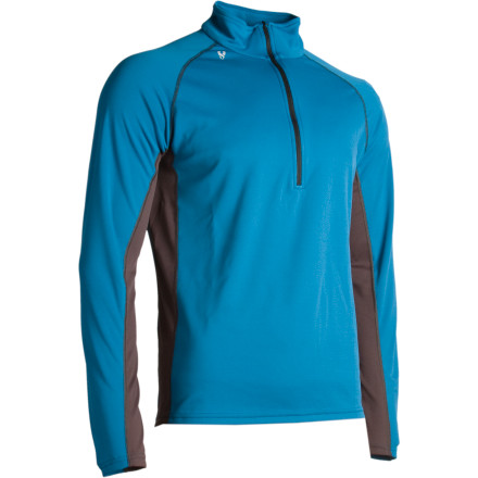 Ski From brisk, fall trail running to bluebird ski touring in the spring, the Stoic Men's Breathe 150 Zip-T takes the bite out of chilly weather while making short work of stifling sweat. Stoic's Polartec Powerdry fabric dries quickly in between ski-season storm days, and the smooth texture makes it easy to slide a layer over or under. Season after season, this long-sleeve will turn into your go-to choice for venturing out into the wild. - $25.60