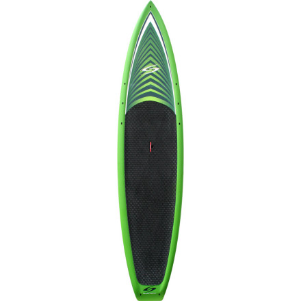 Wake Cruise your favorite paddling spot with ease on the Surftech Flowmaster Stand-Up Paddleboard. Its sleek shape increases paddling efficiency, making it perfect for training and racing, or for long tours when you just want to explore a new area and take in the scenery. - $1,444.95