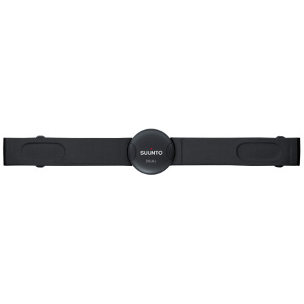 Fitness Compatible with most cardio equipment, the Suunto Dual Belt is optimized for use indoors at your fitness club but will go with you on long runs and rides outdoors, too. The Dual Belt, which features disturbance-free ANT transmission and an analog signal for cardio equipment compatibility, works with all Suunto heart rate monitors. A comfortable Suunto textile strap with seamless adjustment holds the transmission unit in place. - $79.00