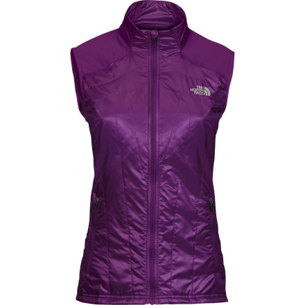 Ski Wear The North Face Women's Anamagi Vest as an outer layer for core warmth on chilly runs or as mid-layer on snowshoe adventures and ski tours. - $47.58