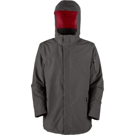 Just because you can't control the weather doesn't mean you can't outsmart it by wearing The North Face Wiseman Parka, which protects you from cold, rain, and snow. The ominous clouds in the distance could bring anything and this insulated jacket with its waterproof breathable HyVent 3L shell ensures that you can keep out whatever falls from the sky. - $119.58