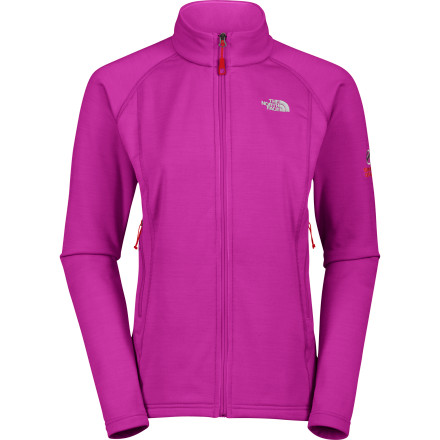 A smooth, abrasion-resistant outer face helps layers slide on easily over the The North Face Women's Pika Fleece Jacket. The inner face of the Polartec Power Stretch Pro fabric features a soft grid fleece that wicks moisture away from your skin to keep you dry and comfortable, no matter what outdoor project or goal you're taking on. Four-way stretch throughout this versatile Summit Series fleece jacket means you can enjoy its slim alpine fit without sacrificing an iota of mobility on the rock face, on the trail, or on the slopes. - $74.47