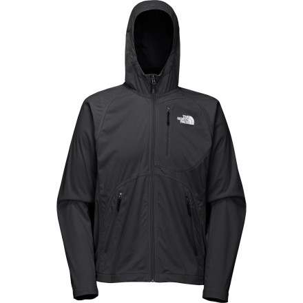 Supremely versatile and built for year-round outdoor use, The North Face V10 Softshell Hoodie blurs the line between sweatshirt and jacket. - $71.97