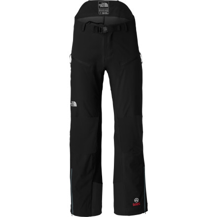 Full shell pants can overheat you when you're involved in serious aerobic activity, light backcountry touring. A breathable stretch softshell pant like The North Face Meteor Softshell Pant lets your skin breathe to regulate its temperature naturally and lets water vapor escape to a void feeling clammy and cold. The Meteor also has abrasion-resistant panels in the butt, knees, and inner ankles for years of loving backcountry abuse. - $148.95