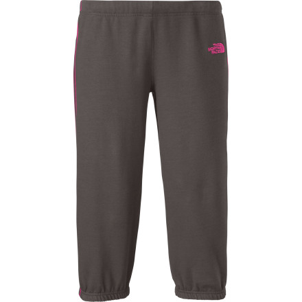 Camp and Hike Whether you're on your way to the gym or the trail, slide on The North Face Women's Logo Stretch Capri Pant for workout or camping comfort. - $39.95