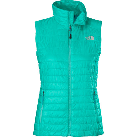 A little means a lot, and The North Face Women's Blaze Vest adds a ton of warming comfort and packs down into its own pocket. Made from synthetic insulation with quick-drying, ultra-breathable FlashDry, this core-hugging layer keeps you warm without weighing you down with bulk or sogginess. - $129.95