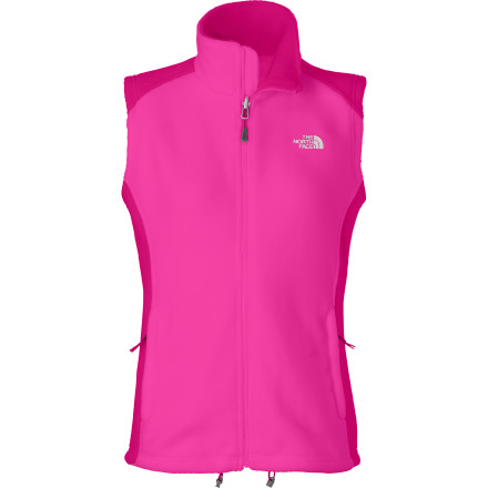 Camp and Hike When you need an extra layer of warmth beneath your shell or windbreaker, count on The North Face Women's RDT 300 Vest to do the trick. Made with FlashDry technology, the RDT 300 stays dry even when you work up a sweat hiking, touring, or backpacking. - $74.95