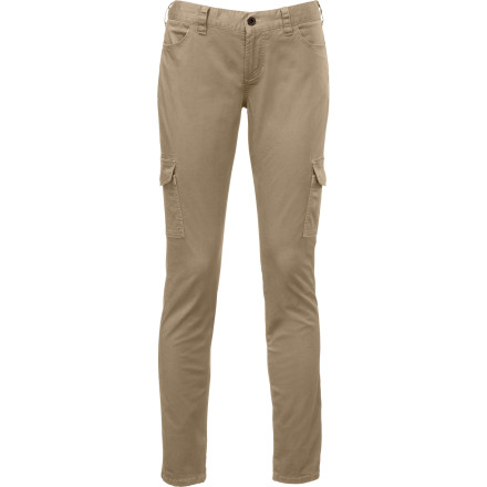There's a time for a baggy cargo pant, but when you want to feel sporty-sexy and casually comfy it's time for The North Face Women's Atka Matchstick Cargo Pant. Made from soft stretch cotton canvas in a skinny matchstick style, you still have the utility of a durable cargo but with a decidedly feminine feel. - $79.95