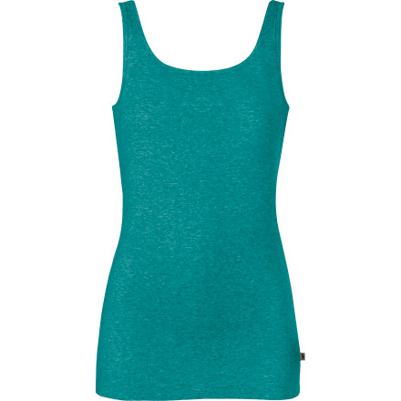 Fitness Every woman loves a tank top with a built-in bra, especially in warm weather when less is more; The North Face Women's Talimena Cami supports your sport-loving lifestyle with cool, casual style. Soft, smooth garment-washed jersey in a slim fit means versatility and everyday comfort, and a scoop neck flatters any figure. - $29.95