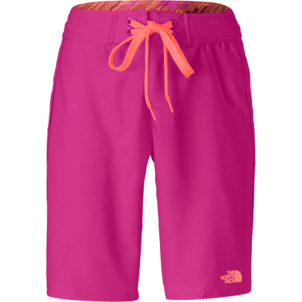 Camp and Hike Pull on The North Face Women's Pacific Creek Board Short, roll out of your beachside tent, and rig up the raft for another fun day on the river. - $49.95