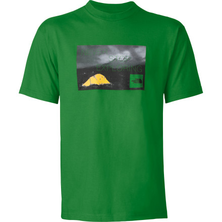 Camp and Hike The North Face Men's Meru Tent Short-Sleeve T-Shirt - $24.95