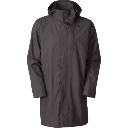 Look suspicious in The North Face Vince Trench Coat. Designed for urban use, the Vince Trench Coat provides waterproof breathable protection, versatility, and a touch of added shadiness to give you the air of mystery that you've always tried to achieve. - $189.95
