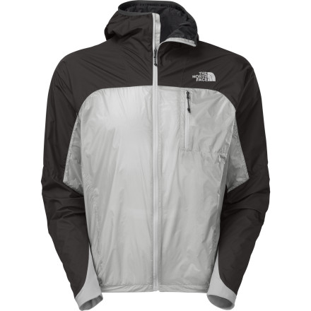 Designed to suit the fast and light needs of alpine rock climbers, The North Face Men's Verto Pro Jacket provides tough weather protection with an ultralight weight of just 5.6 ounces. The highly packable Pertex Quantum GL fabric keeps weight to a minimum while strategically placed Gore Windstopper panels add durability and weather protection where it's most needed. - $198.95