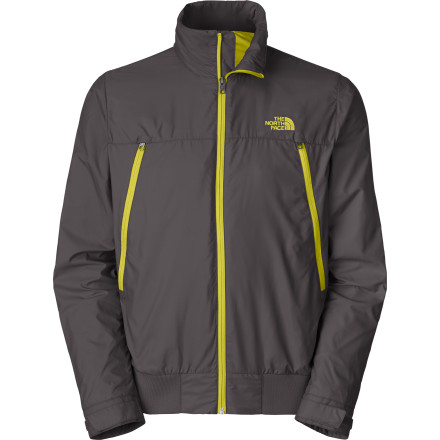 On windy spring days, zip up the The North Face Men's Diablo Wind Jacket and head to the park for a slackline and Frisbee session. The DWR finish stops windy weather in its tracks while the ribbed cuffs and hem lend a classic wind breaker look and feel. - $98.95