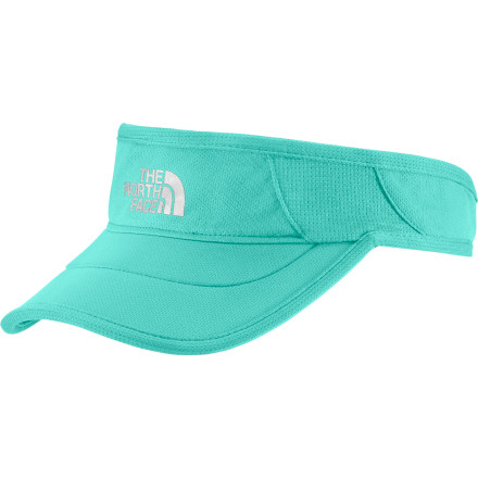 Adorned with an instantly recognizable logo, The North Face GTD Visor keeps your style factor high and your sunburn factor low. Release your locks, but keep out the rays while you adventure or just lounge in the sun. - $24.95