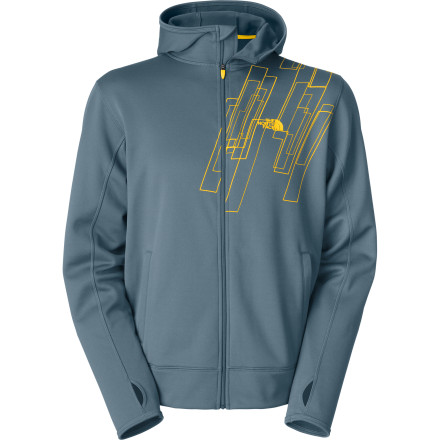 The North Face Surgent Printed Men's Full-Zip Hoodie - $51.93
