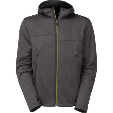 Built with technical fabric and designed with a look that's 100-percent casual, The North Face Canyonlands Full-Zip Hoody keeps your muscles warm and your body relaxed while you take your turn on belay. - $98.95