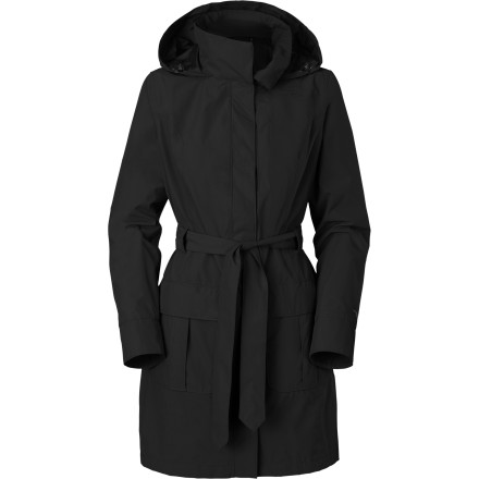 Fitness The North Face Women's Stella Grace Jacket keeps you dry, feeling good, and looking great during your wet sightseeing tour around Manhattan or rainy commute to work in April. - $209.95
