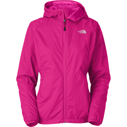 Fitness Combat blustery days and springtime chills with The North Face Women's Pitaya Jacket. Its wind-resistant fabric, DWR coating, and high-loft Silken fleece fabric provide cozy comfort and light weather protection from the windy or nippy air. - $129.95