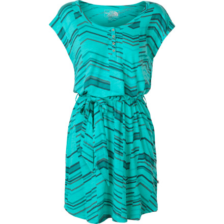 Entertainment After a long day on the trail, shower up and put The North Face Women's Antina Dress on for your friend's barbecue or a tapas dinner date. - $54.95