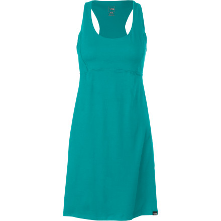 Entertainment Pull on The North Face Women's Cypress Dress, walk over to the park, and rig up your slackline. Who says you can't wear a dress while you're practicing' Made with midweight stretch fabric, the Cypress feels soft and comfortable against your skin and moves with you as you balance  on the line. - $69.95