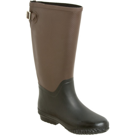 Sure, rainy days are great for reading, baking cookies, and cuddling up, but to really get the best of a rainy day, you need to slip on your Tretorn Women's Emelie Rain Boots and get outside. - $31.98