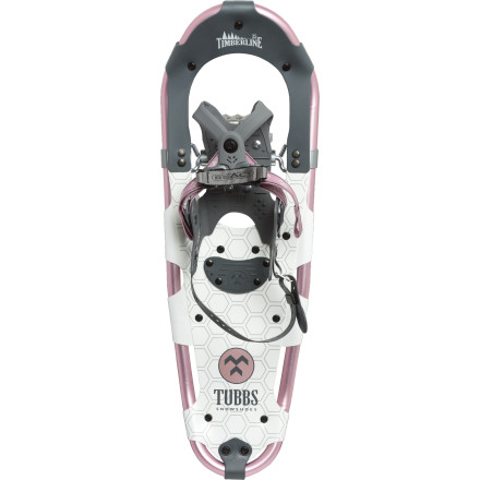 Entertainment The easy-to-use, lightweight Tubbs Women's Timberline Snowshoes are how you'll manage to make it to the end of the trail and back again with your hound or to the top of your favorite local peak for an enlightening view. - $84.98