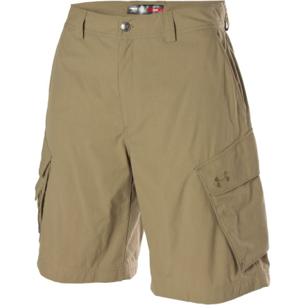 Climbing You may or may not end up with a cooler full of fish to show for your time, but you'll still enjoy your day on the river when you're wearing the Under Armour Men's Guide III Short. Lightweight, durable, quick-drying ripstop nylon makes these shorts ideal for fishing or other water-centric activities, while the UA moisture transport system and strategic vent zones keep you dry and comfortable when the temperatures climb. - $59.95