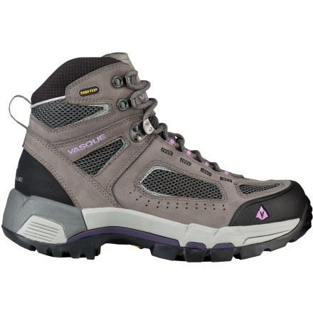 Camp and Hike Lace up the light, stable Vasque Women's Breeze 2.0 GTX Hiking Boot with waterproof, breathable Gore-Tex protection, and rev up your engine for high-octane exploration. Dual-density EVA construction and a molded TPU plate provide tons of efficient, weight-conscious support, strength, and torsion control for sure-footed backcountry performance. - $143.96