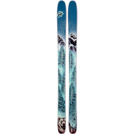 Ski Your light backcountry skis just got lighter with the waxless, scaled, leave-your-skins-at-home Voile Vector BC Ski. With all-mountain dimensions, rockered tip, and wide-radius sidecut, this ski will go anywhere and do it without help. When you want optimal simplicity or don't want to sacrifice the weight, space, or expense of skins, the BC will lighten the load and speed up the pace. - $549.95